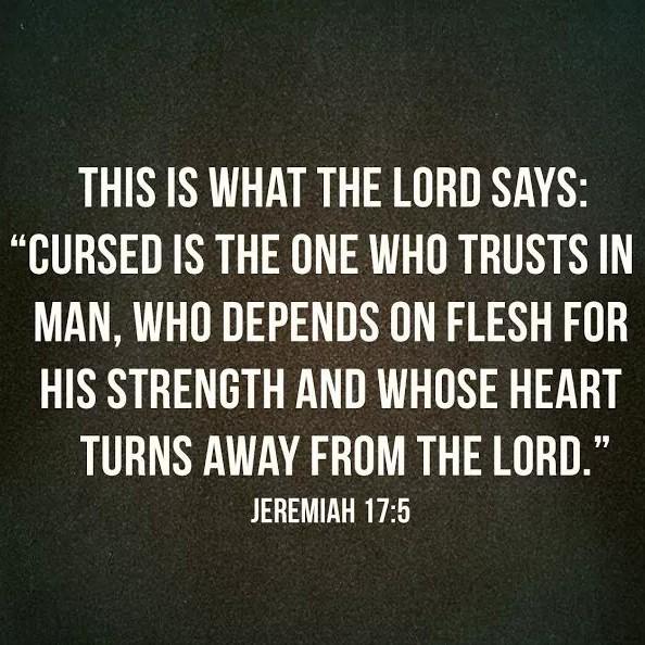 Jeremiah 17 5